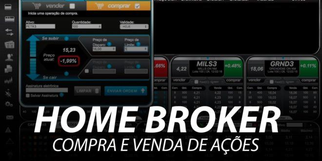 Descubra a ferramenta Home Broker na bolsa de valores